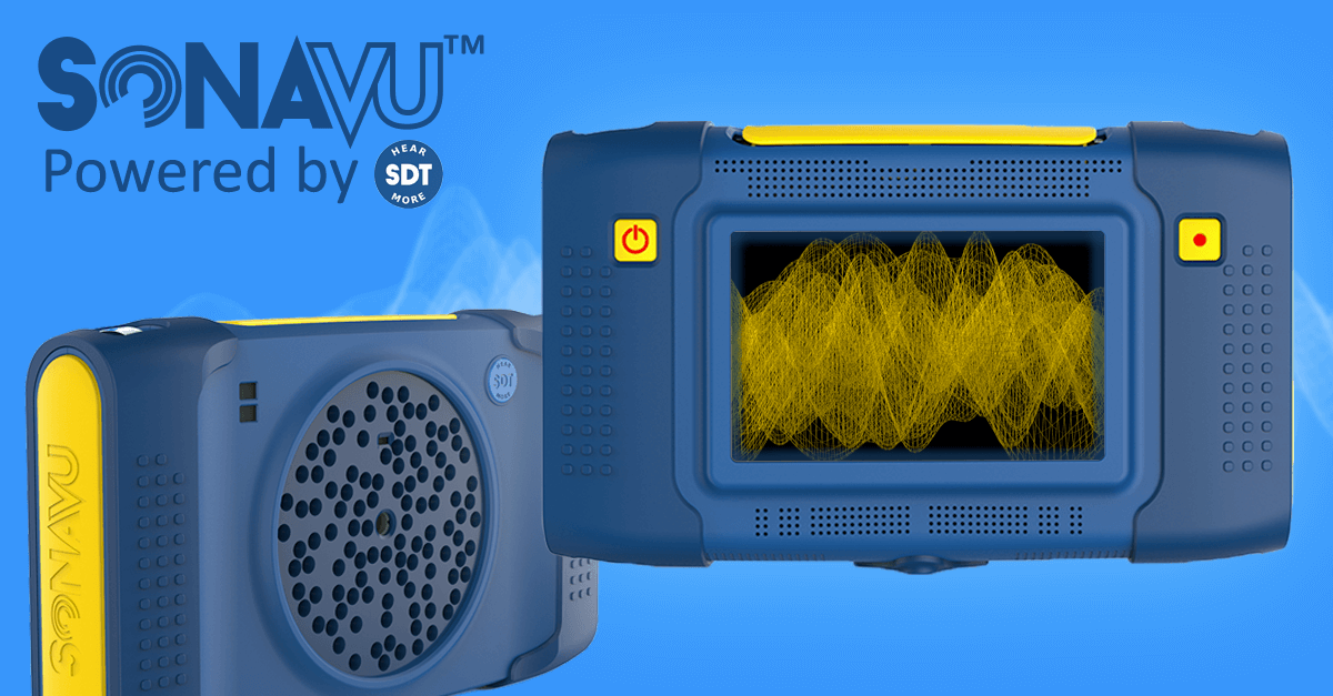 Acoustic imaging camera for visualizing sound and ultrasound
